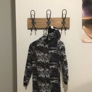 Pyjama One piece (Camo Gray and black)